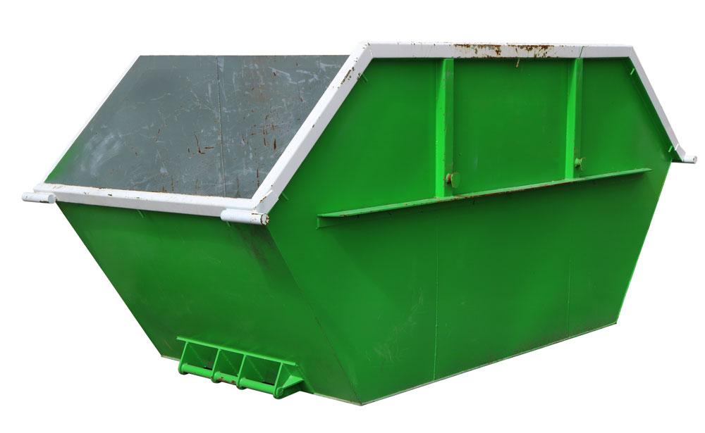 lugger scrap metal bin